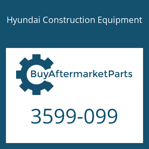 Hyundai Construction Equipment 3599-099 - WASHER