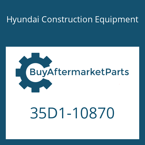 Hyundai Construction Equipment 35D1-10870 - PIPE ASSY-HYD