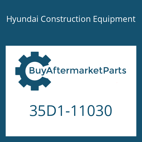 Hyundai Construction Equipment 35D1-11030 - ACCUMULATOR