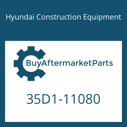 Hyundai Construction Equipment 35D1-11080 - BLOCK-LH