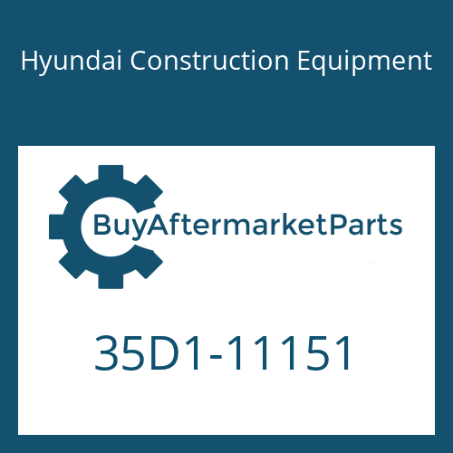 Hyundai Construction Equipment 35D1-11151 - PIPE ASSY-HYD