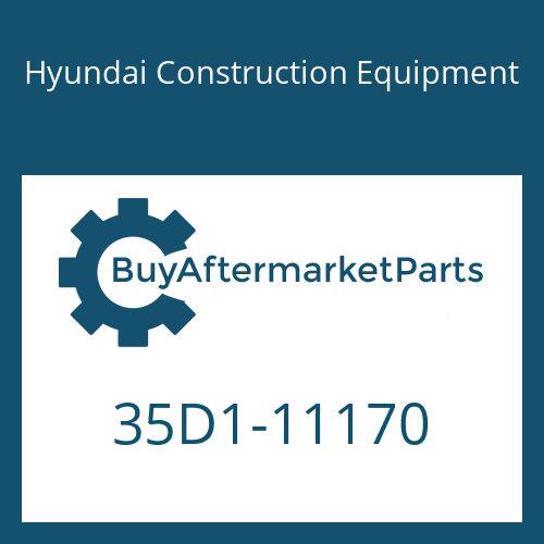 Hyundai Construction Equipment 35D1-11170 - PIPE ASSY-HYD