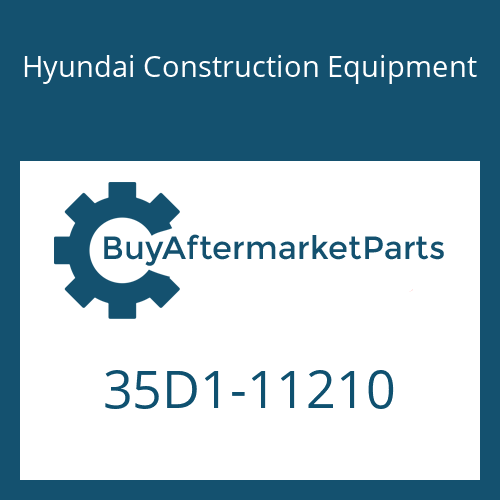 Hyundai Construction Equipment 35D1-11210 - PIPE ASSY-HYD