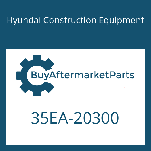 Hyundai Construction Equipment 35EA-20300 - BRACKET