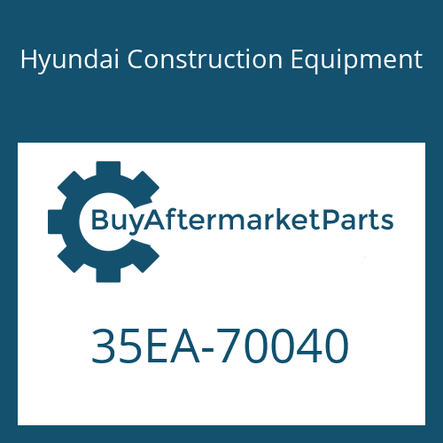 Hyundai Construction Equipment 35EA-70040 - PIPE ASSY