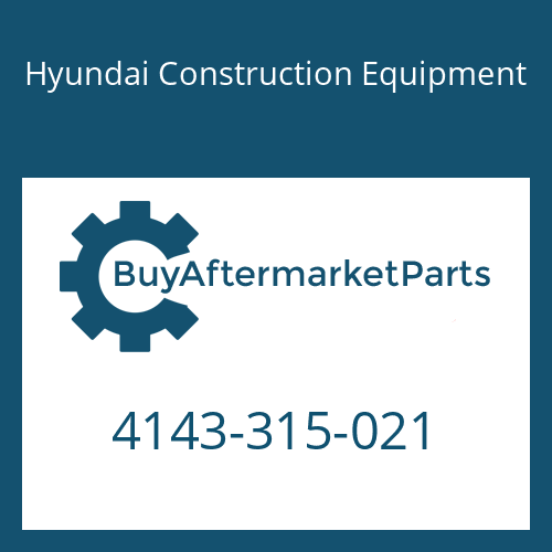 Hyundai Construction Equipment 4143-315-021 - DISC-STEEL 3.4