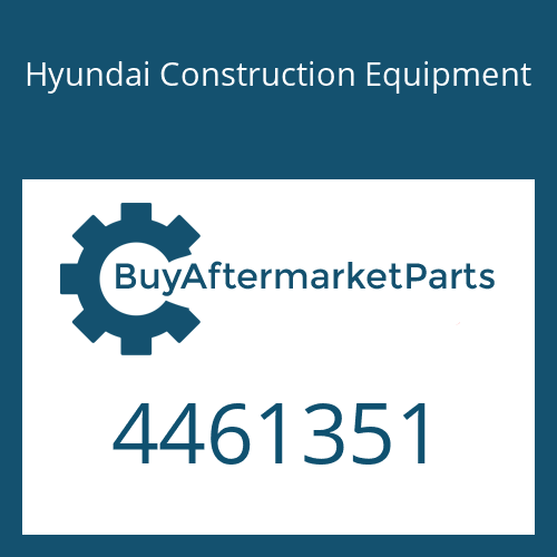 Hyundai Construction Equipment 4461351 - REAR COVER ASSY