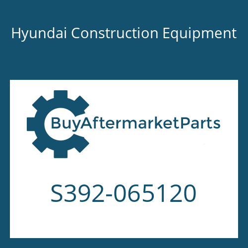 Hyundai Construction Equipment S392-065120 - SHIM-ROUND 2.0