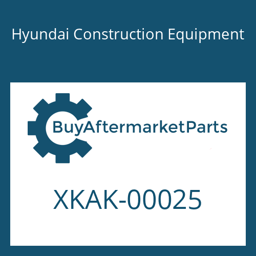 Hyundai Construction Equipment XKAK-00025 - LATCH