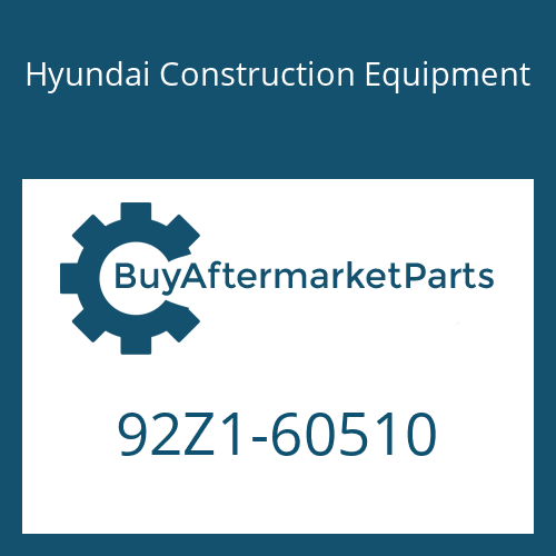 Hyundai Construction Equipment 92Z1-60510 - DECAL-SPECIFICATION SHEET