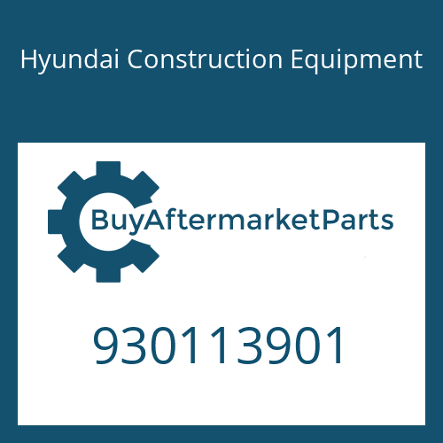Hyundai Construction Equipment 930113901 - BOLT