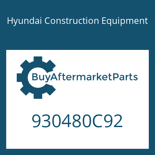 Hyundai Construction Equipment 930480C92 - KIT REPAIR
