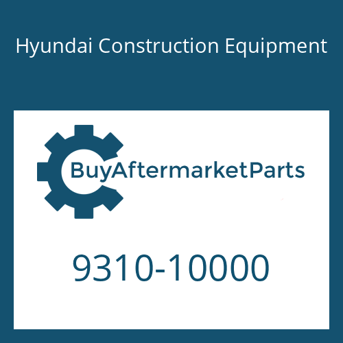 Hyundai Construction Equipment 9310-10000 - WASHER-SPRING