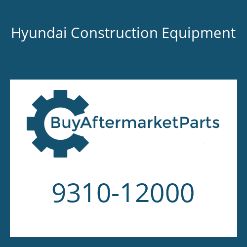 Hyundai Construction Equipment 9310-12000 - WASHER-SPRING