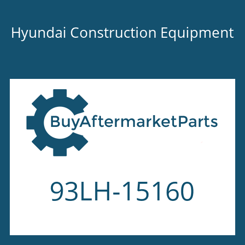 Hyundai Construction Equipment 93LH-15160 - DECAL-SUPPORT FRONT/LH