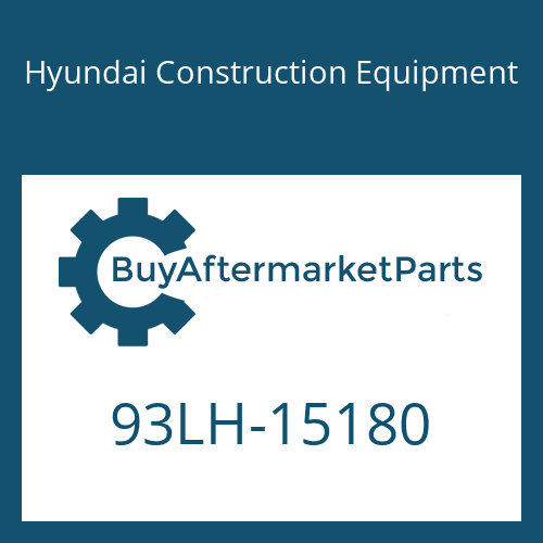 Hyundai Construction Equipment 93LH-15180 - DECAL-UPPER/LH
