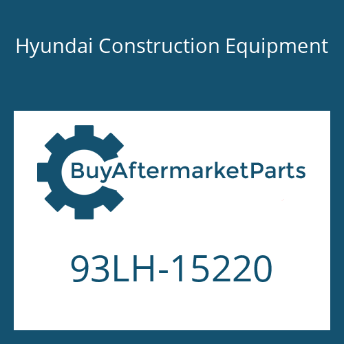 Hyundai Construction Equipment 93LH-15220 - DECAL-HYD TANK/RH