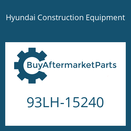 Hyundai Construction Equipment 93LH-15240 - DECAL-COWL/RH