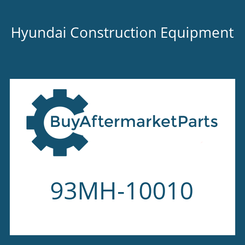 Hyundai Construction Equipment 93MH-10010 - DECAL-MODEL NAME LH