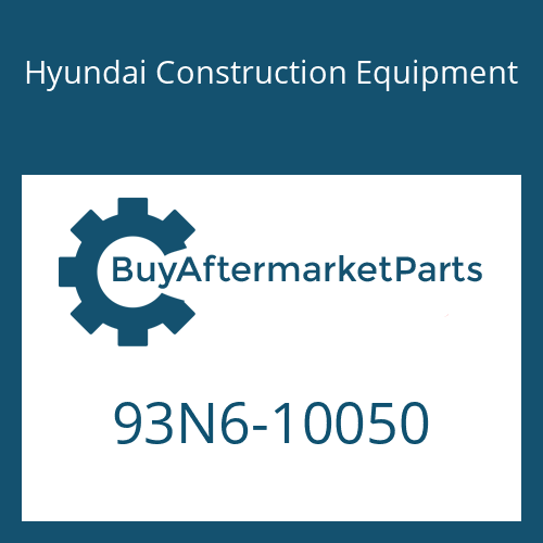 Hyundai Construction Equipment 93N6-10050 - DECAL-MODEL NAME