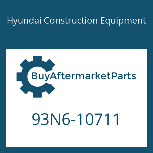 Hyundai Construction Equipment 93N6-10711 - DECAL-SERVICE INSTRUCTION