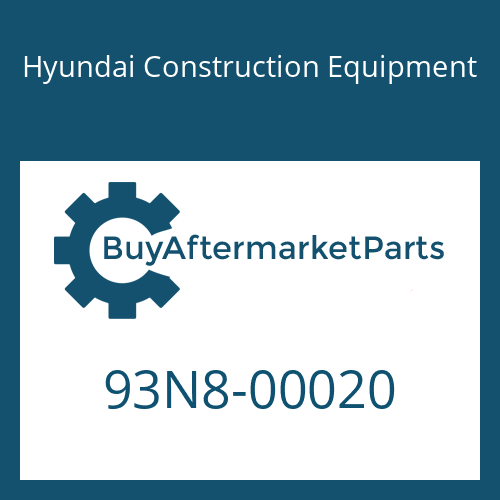 Hyundai Construction Equipment 93N8-00020 - DECAL KIT-A