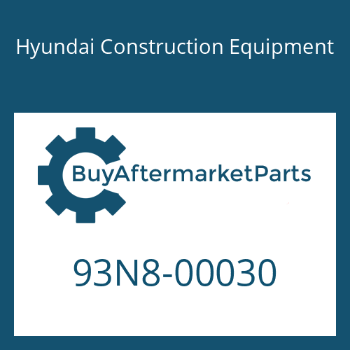 Hyundai Construction Equipment 93N8-00030 - DECAL KIT-A