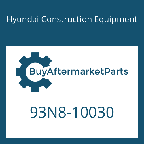 Hyundai Construction Equipment 93N8-10030 - DECAL-MODEL NAME LH