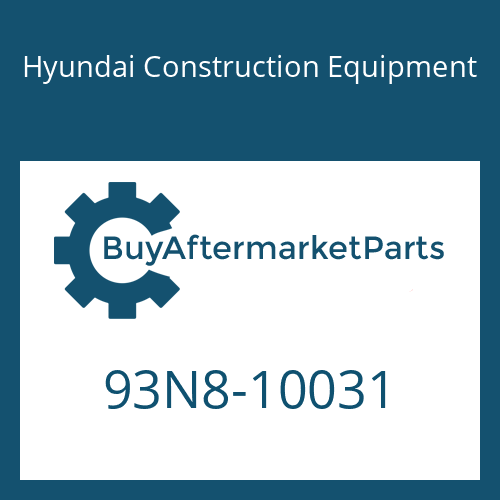 Hyundai Construction Equipment 93N8-10031 - DECAL-MODEL NAME