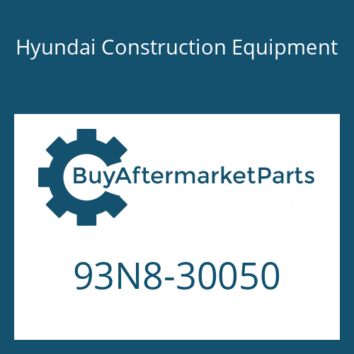 Hyundai Construction Equipment 93N8-30050 - MANUAL-SERVICE