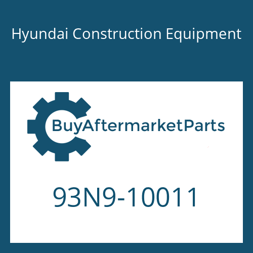 Hyundai Construction Equipment 93N9-10011 - DECAL-MODEL NAME