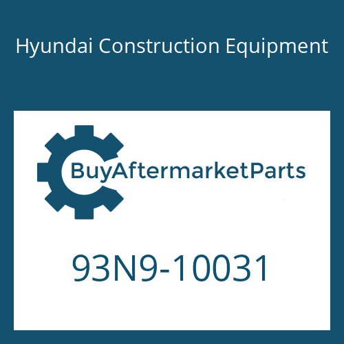 Hyundai Construction Equipment 93N9-10031 - DECAL-MODEL NAME
