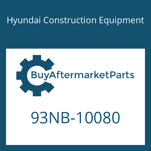 Hyundai Construction Equipment 93NB-10080 - DECAL-MODEL NAME RH