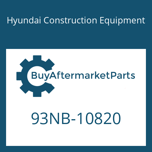 Hyundai Construction Equipment 93NB-10820 - SPECIFICATION SHEET