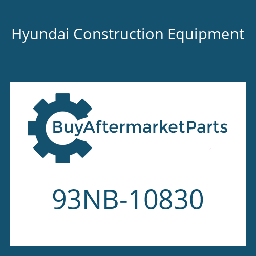 Hyundai Construction Equipment 93NB-10830 - DECAL-SPECIFICATION SHEET