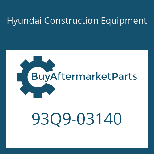 Hyundai Construction Equipment 93Q9-03140 - LIFTING CHART