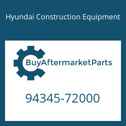 Hyundai Construction Equipment 94345-72000 - O-RING, WATER OUT PIPE
