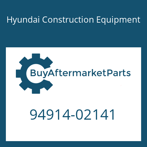 Hyundai Construction Equipment 94914-02141 - O-RING