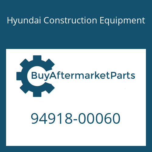 Hyundai Construction Equipment 94918-00060 - SCREW