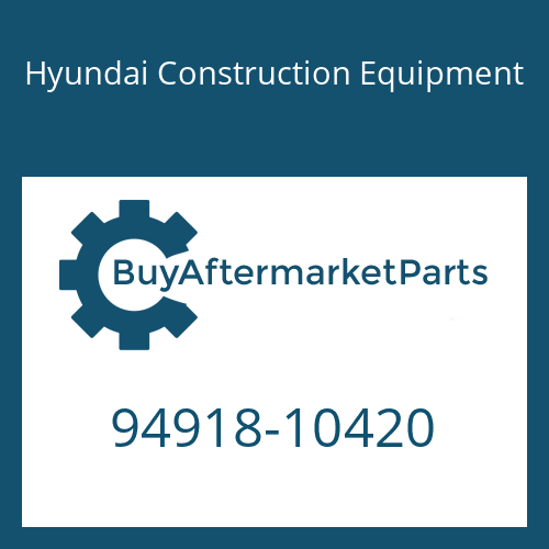 Hyundai Construction Equipment 94918-10420 - NIPPLE-SWIVELING