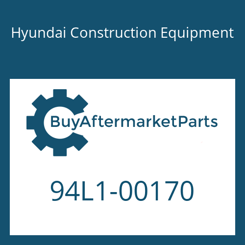 Hyundai Construction Equipment 94L1-00170 - DECAL-GREASE