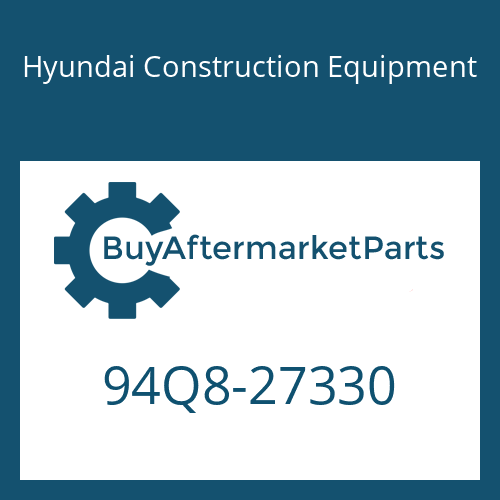 Hyundai Construction Equipment 94Q8-27330 - DECAL-OVERALL WIDTH
