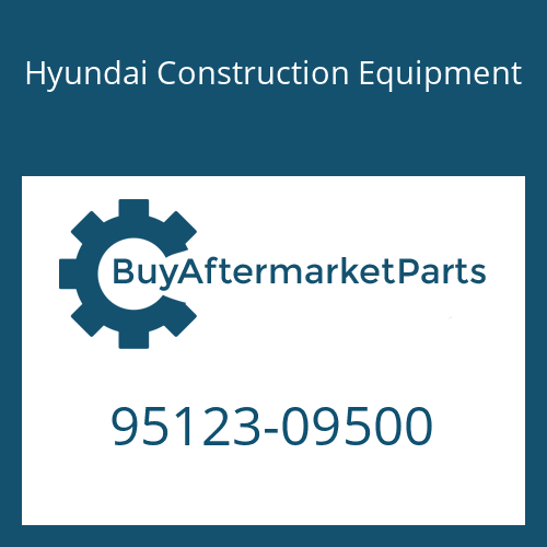 Hyundai Construction Equipment 95123-09500 - O-RING