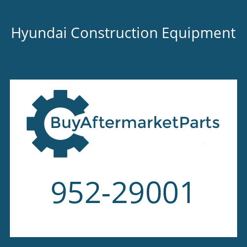 Hyundai Construction Equipment 952-29001 - ADAPTER-TOOTH