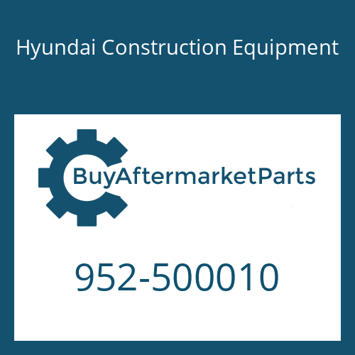 Hyundai Construction Equipment 952-500010 - PIN-RUBBER, TOOTH