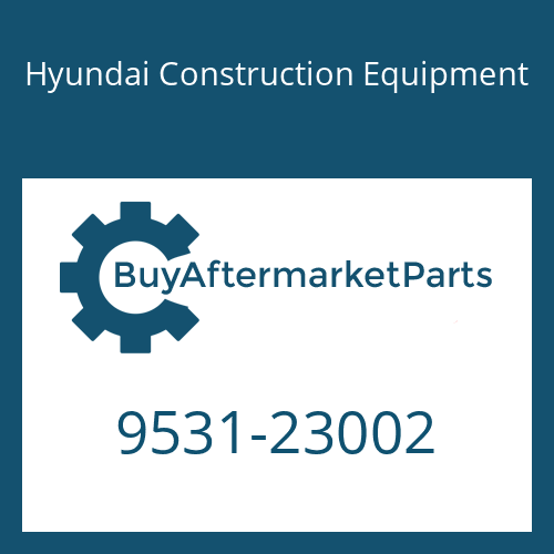 Hyundai Construction Equipment 9531-23002 - O-RING