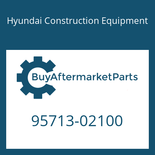 Hyundai Construction Equipment 95713-02100 - RING-BACK UP