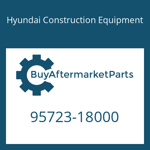 Hyundai Construction Equipment 95723-18000 - RING-BACK UP