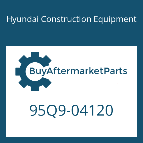 Hyundai Construction Equipment 95Q9-04120 - LIFTING CHART