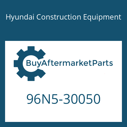 Hyundai Construction Equipment 96N5-30050 - MANUAL-SERVICE